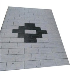 Interlock Tiles -White / Black