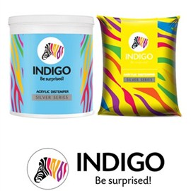 Indigo Paints Distemper Silver Series