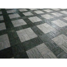 Interlock Tiles-Double Color (White And Black)