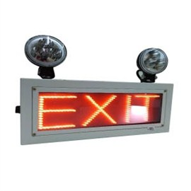 Industrial Emergency Light (LED) with EXIT