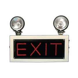 Industrial Emergency Light with EXIT