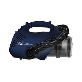 Eureka Forbes Euroclean Bravo Hand Held Vacuum Cleaner for Home & Office with HEPA Filteration Blue & Silver