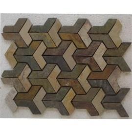 Golden  3D Pattern (IG 1128)
