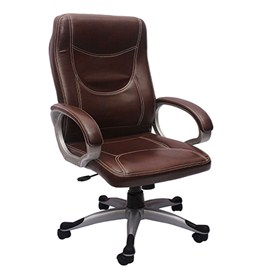 VJ Interior Executive Chair Brown 21 x 23 x 48 Inch VJ-209-EXECUTIVE-HB