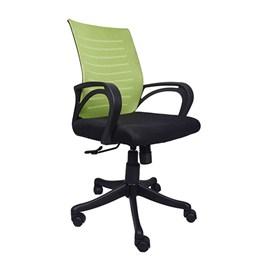 VJ Interior Verde Task Chair Black and Green 19 x 20 x 21 Inch VJ-0162