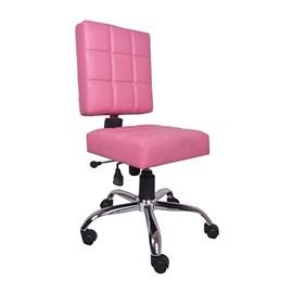 VJ Interior Rosado Study And Task Chair Pink 19 x 20 x 21 Inch VJ-0184