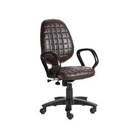 VJ Interior Moreno Brown Color Task Chair VJ-410