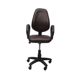 VJ Interior Visitor Chair Black 19 x 19 x 39 Inch VJ-97-VISITOR-RBY