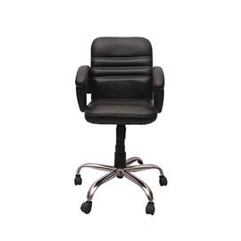 VJ Interior Visitor Chair Black 19 x 19 x 39 Inch VJ-105-VISITOR-LB