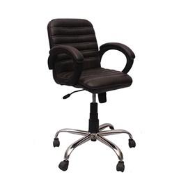 VJ Interior Visitor Chair Black 19 x 19 x 39 Inch VJ-137-VISITOR-MB