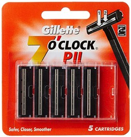 Gillette 7'O Clock P II - Twin Blade Cartridge