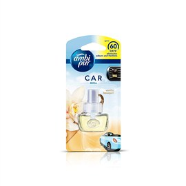 Ambi Pur Vanilla Bouquet Car Air Freshener Starter Kit 7.5 ml