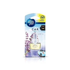 Ambi Pur Lavender Spa Car Air Freshener Starter Kit + Refill Promo 7.5 ml