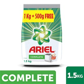 Ariel Colour Washing Detergent Powder 1.5 Kg