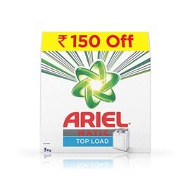 Ariel Matic Top Load Detergent Washing Powder - 3 kg