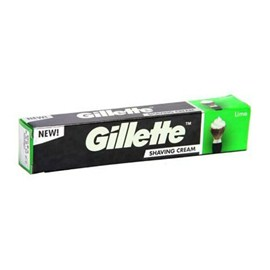 Gillette Shaving Cream - Lime, 93g Tube