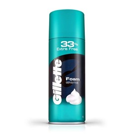 Gillette Fat Foamy (Sensitive) 300gm