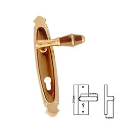 Mastiff Brass Mortise Handles(MB 32-CY)