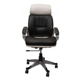 VJ Interior Executive Chair Black and White VJ-169-EXECUTIVE-HB